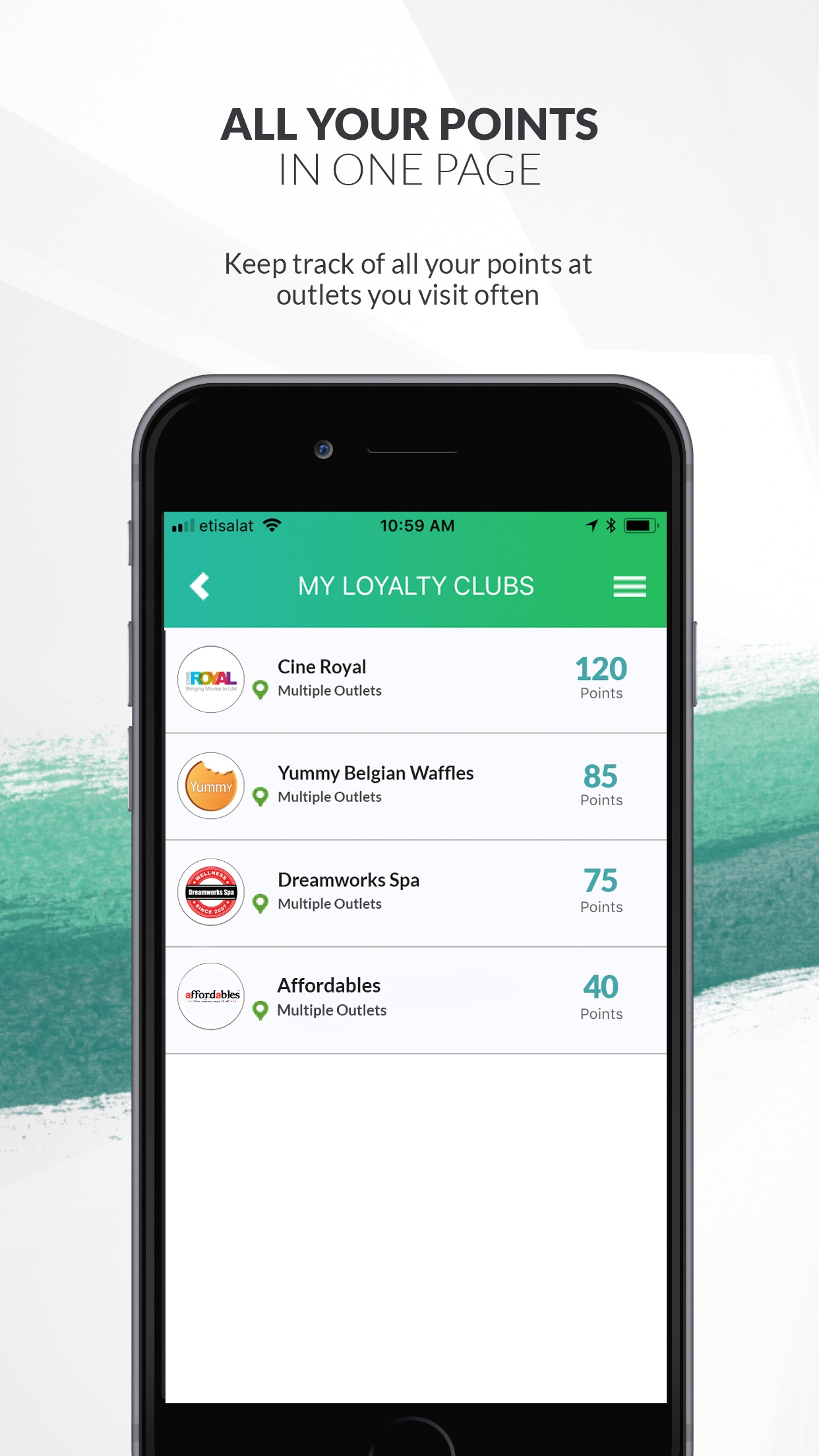 Bebuzzd - Loyalty & Rewards Screenshot