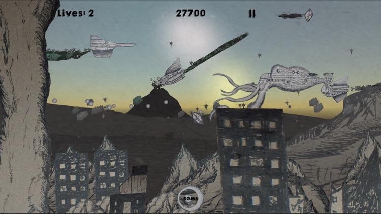 Weltraum Tinte screenshot-0