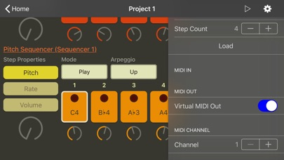 ArpBud - MIDI Sequencer & More Screenshots