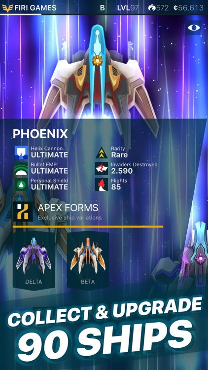 Phoenix 2 — Space Shooter screenshot-1