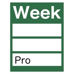 WeekTable2 Pro