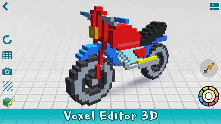 Poxel 3D - Voxel Editor, Maker screenshot-0