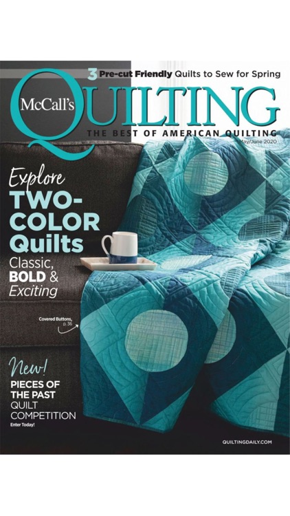 McCall's Quilting Magazine screenshot-0