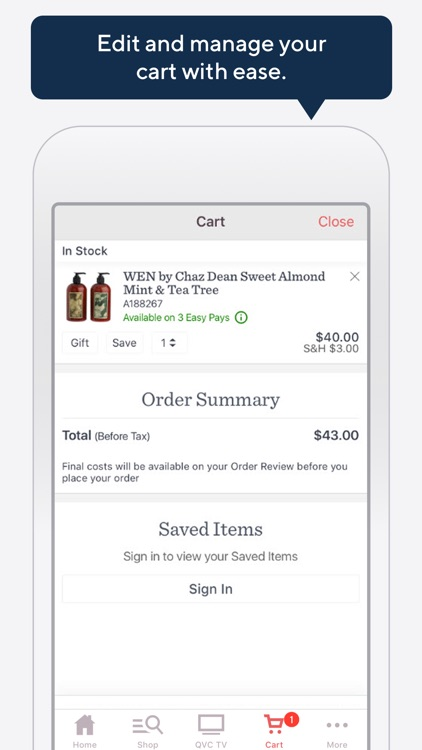 QVC Mobile Shopping (US) screenshot-8