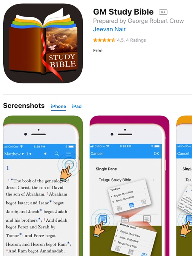 GM Study Bible on the App Store