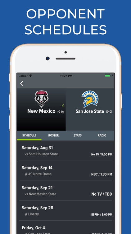 San Jose State Football App screenshot-5