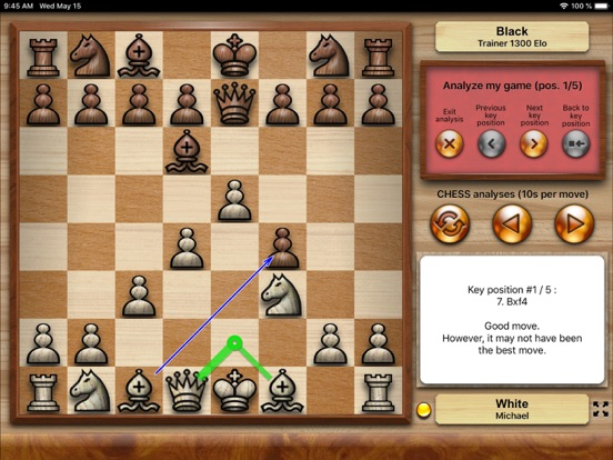 Chess Tiger Pro для iPad
