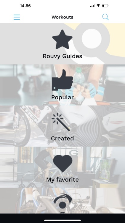 Rouvy Workouts Mobile