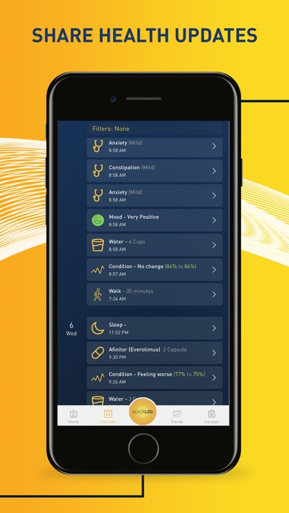 chemoWave: cancer health app screenshot-3