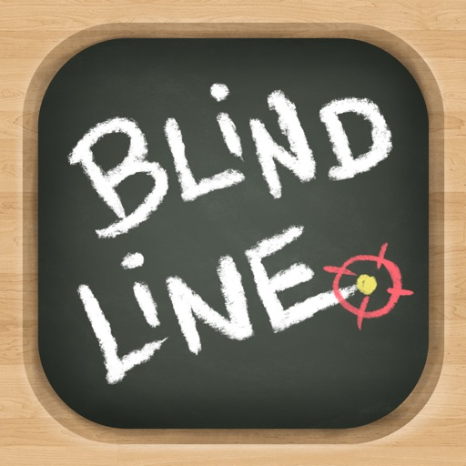 Blind Line - Chalkboard Path