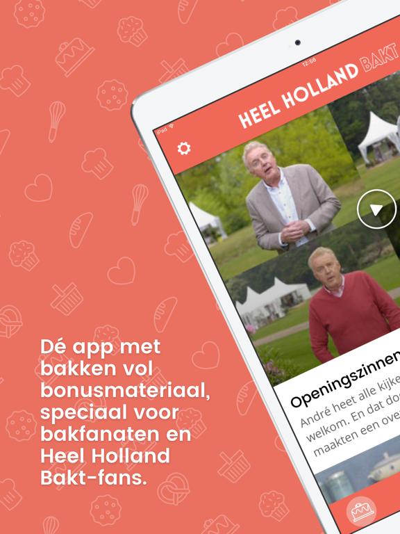 Heel Holland Bakt iPad app afbeelding 2