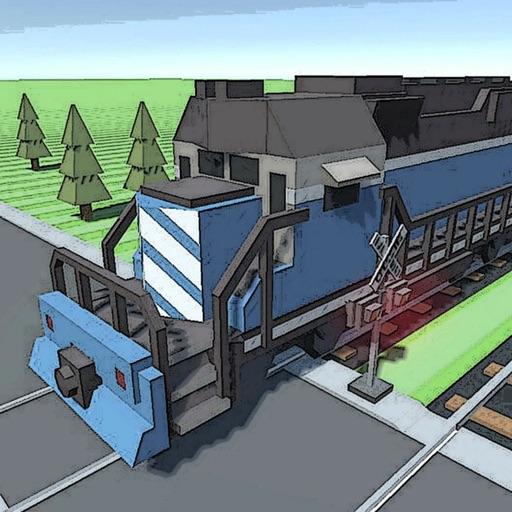 Crossy Tracks 3D