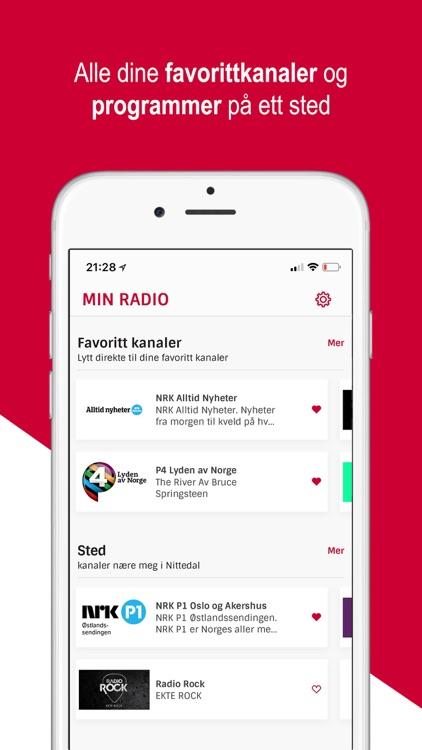 Radioplayer Norge screenshot-3
