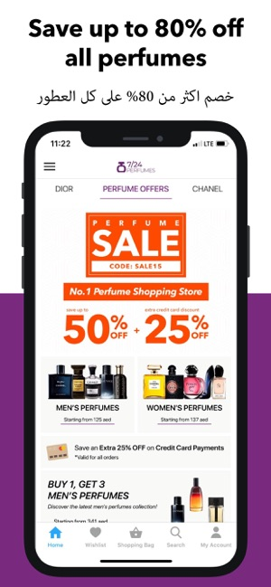 620a92caf 7/24 Perfumes Shopping App on the App Store
