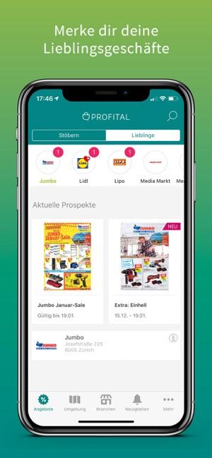 Profital Aktionen Prospekte Im App Store