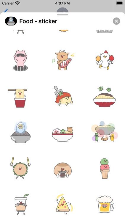 Food - sticker