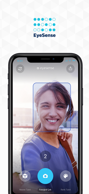 ‎EyeSense Screenshot