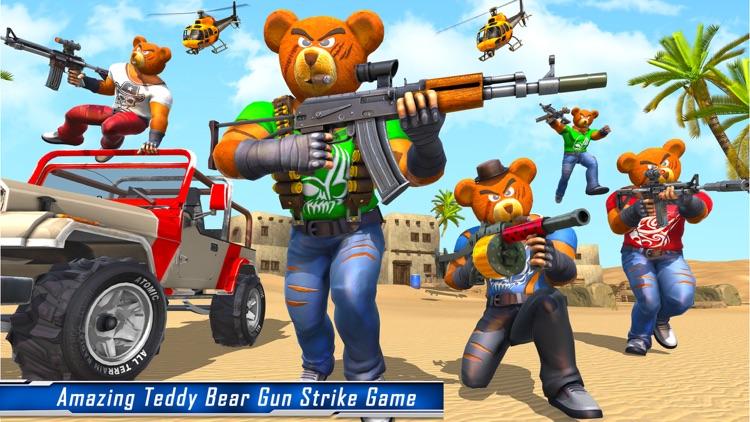 Teddy Bear Gun Shooting Game screenshot-4