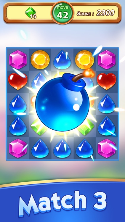 Jewels & Gems - Match 3 Games