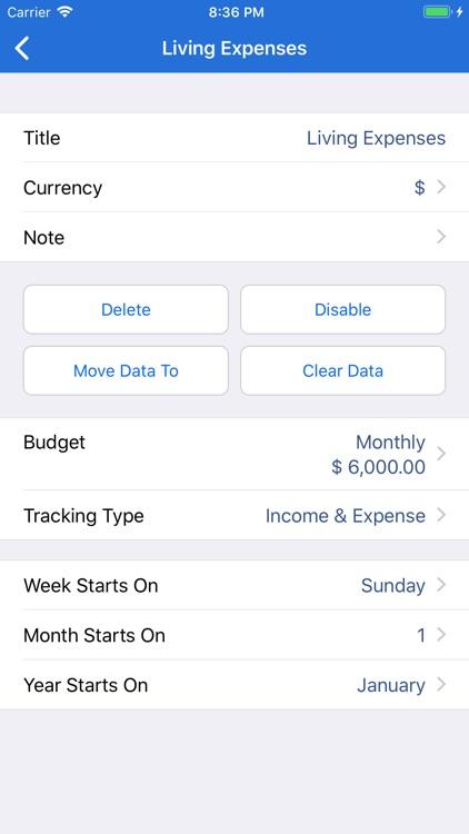 MoneyBook Pro screenshot-7