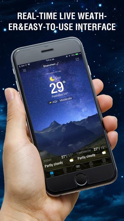 Amber Weather AQI Forecast screenshot-0