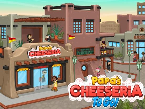 Papa's Cheeseria To Go! на iPad