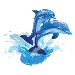 Aqua Sea Life EMojis