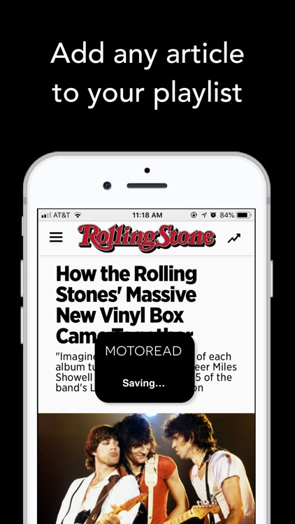 Text to Speech News - Motoread