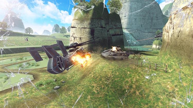 Massive Warfare: Tank War Game screenshot-5