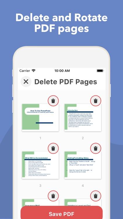 PDF it All Document Converter screenshot-3