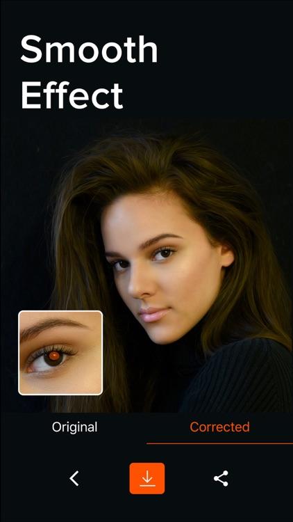 Red Eye Corrector ⊙ Fix redeye