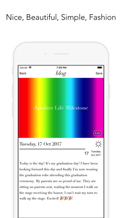 Blog Moments screenshot-1