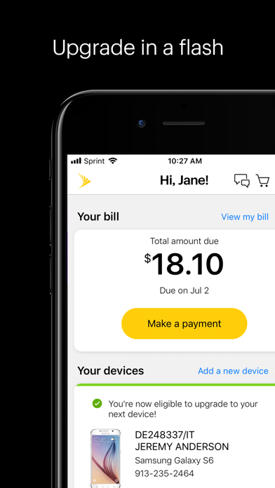 download My Sprint Mobile apps 4