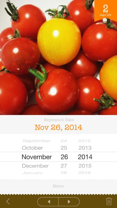 Screenshot for Fresh Pantry - Shelf Life in Azerbaijan App Store