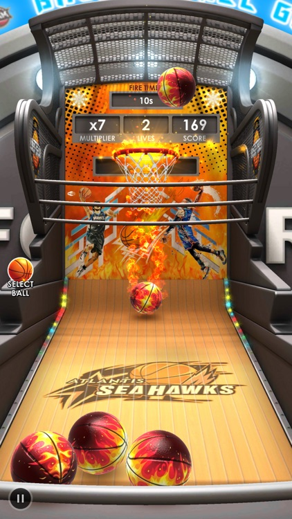 Basketball Flick 3D screenshot-4