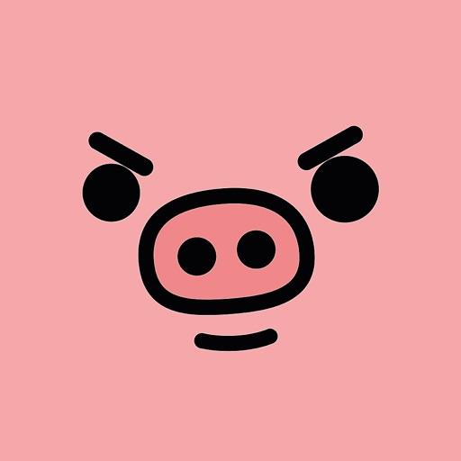 The Piggy Stickers