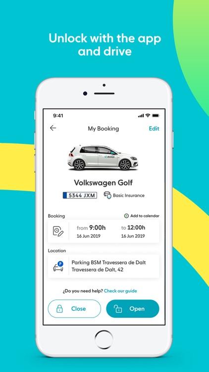 Ubeeqo Carsharing App screenshot-4
