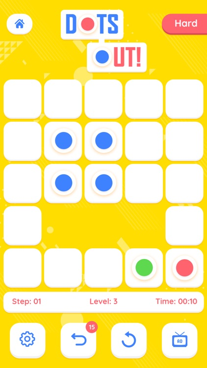 Dots Out - A puzzle Adventure
