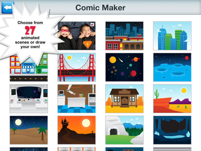 ‎Superhero Comic Book Maker HD Screenshot