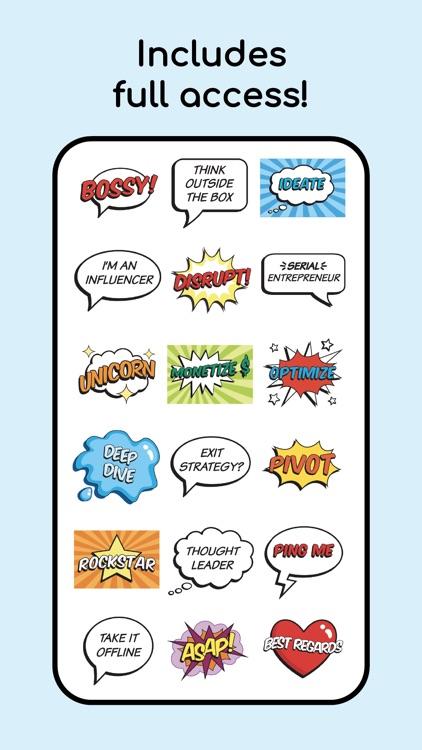 Bossy Buzzwords! Animated Text
