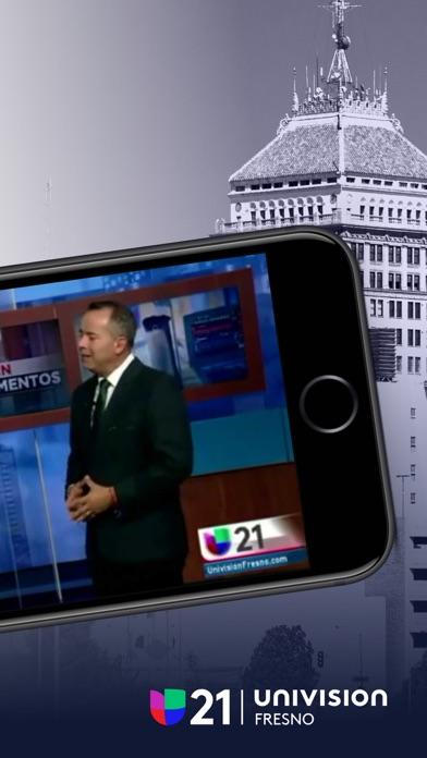 Univision 21 Fresno screenshot 2
