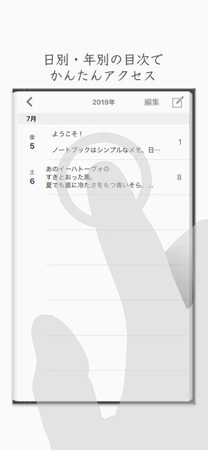 ノートブック - メモ日記アプリ Screenshot