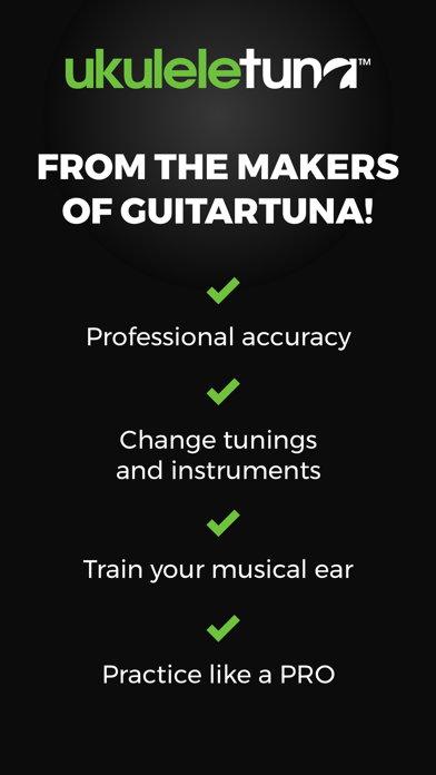 Ukulele Tuna: Ukulele Tuner screenshot one