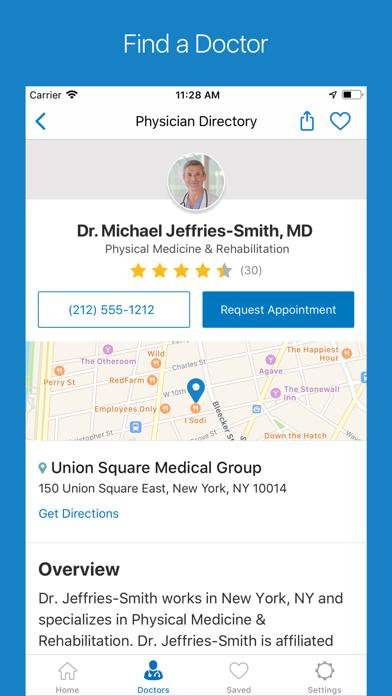 Screenshot for WebMD: Symptoms, Doctors, & Rx in Denmark App Store