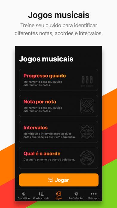 Screenshot for Afinador Cifra Club in Portugal App Store