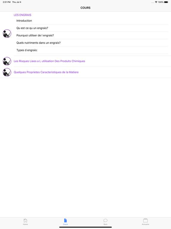 Chimie 4ème screenshot 11