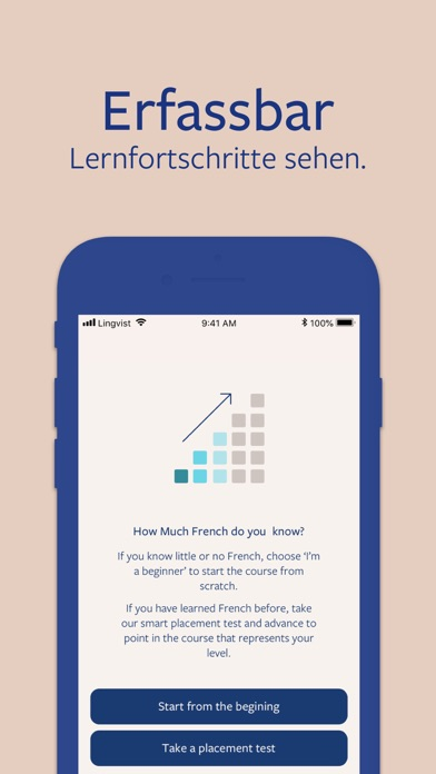 Screenshot for Lingvist: lerne Englisch in Germany App Store