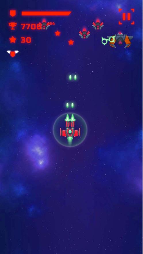 الحريق الفضاء App 截图
