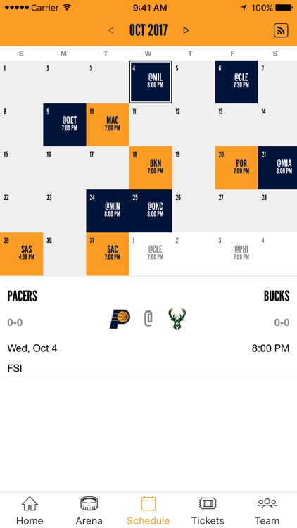 Indiana Pacers Official screenshot-4