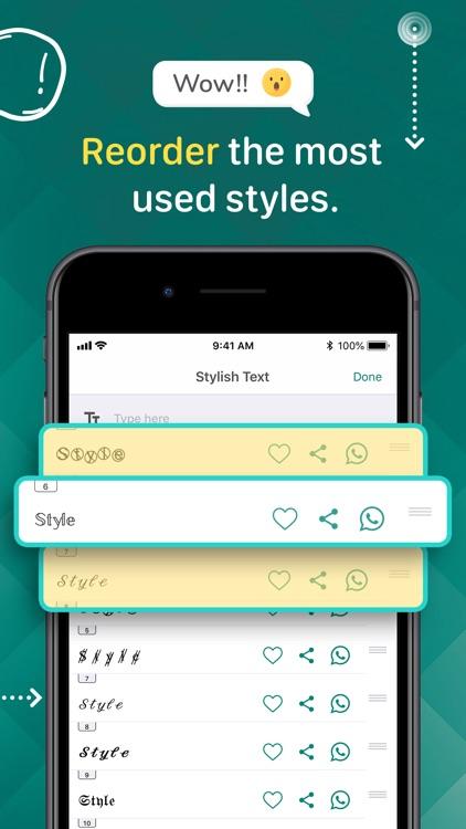 Stylish Text screenshot-4